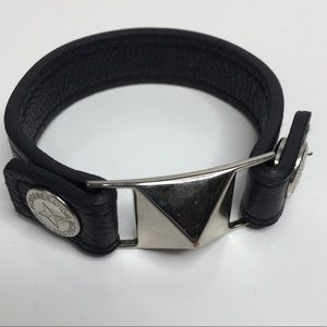 BCBG Generation Leather Snap Bracelet